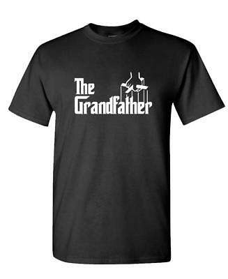 THE GRANDFATHER - Funny Fathers Day Spoof - Unisex Cotton T-Shirt Tee Shirt