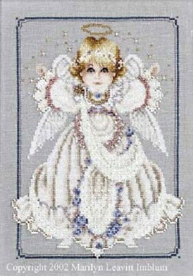 Butternut Road - BR16 Button Box Babies Angel Girl Counted Cross-stitch Pattern
