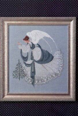Lavender - Lace - LL22 - Ice Angel Counted Cross Stitch Pattern