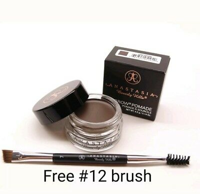 Anastasia Beverly Hills Dipbrow Pomade w Free  12 Brush Fast Shipping US seller