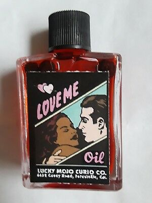 Lucky Mojo Love Me OilGet Lovers Partners Bosses - Clients To Love You