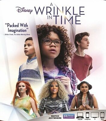 A Wrinkle in Time Blu-Ray Disc ONLY 2018 Disney