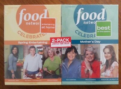 Food Network Celebrates Spring Entertaining  Mothers Day DVD 6 Discs New Sealed