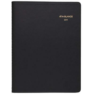 AT-A-GLANCE 2019 Monthly Planner 9 x 11 Large Black 7026005