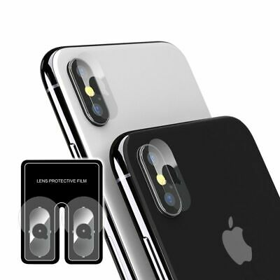 2 pack Camera Lens Tempered Glass Screen Protector For iPhone XXSXS MaxXR