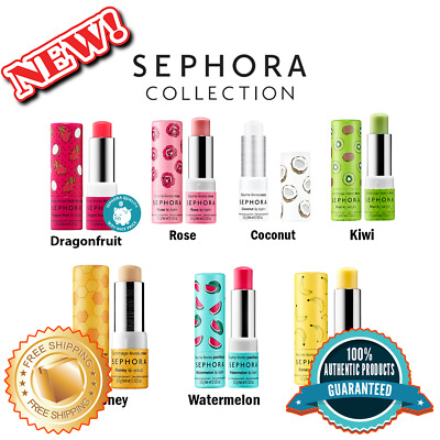 SEPHORA COLLECTION Lip Balm - Scrub Authentic Available in 7 Colors 0-123 oz