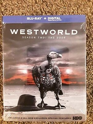 Westworld Season 2 - The Door - New Sealed Blu-ray Plus Digital
