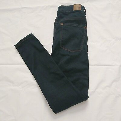 Womens Size 4 American Eagle Outfitters Jegging Jeans Sky High Rise Dark Wash
