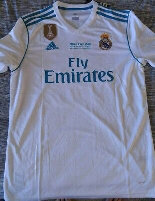 Marcelo Real Madrid Home Jersey Champions League Edition 1718 adult large