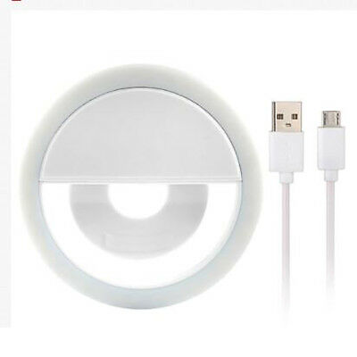 Selfie Portable LED Light Ring Fill Camera Flash For Mobile Phone iPhone Sumsung