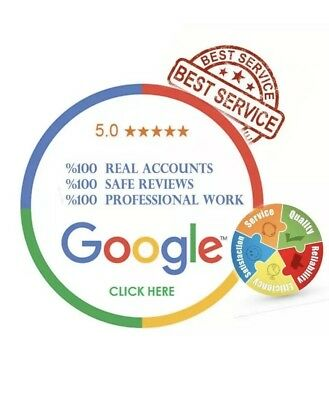 1x REAL FIVE STAR GOOGLE REVIEW PERMANENT