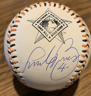 Andy Benes Autographed Signed 1993 All Star Game Baseball Cardinals Padres