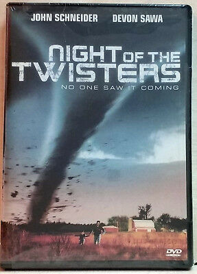 Night of the Twisters DVD 2006 FACTORY SEALED  R1  NTSC