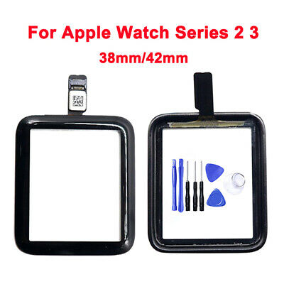 100 OEM For Apple Watch iWatch Series 2 3 Front Touch Screen Digitizer Glass