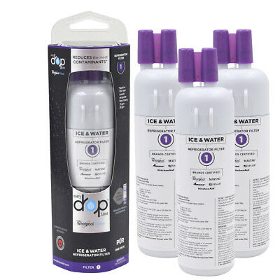 3-Pack-EDR1RXD1-Whirlpool-Every Drop-Refrigerator-Water Filter 1-W10295370A