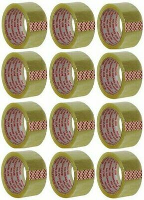 CLEAR PACKING TAPE 2X55 YDS 12 PACK