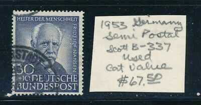 OWN PART OF GERMANY STAMP HISTORY 1 ISSUE  CAT VALUE 67-50  STAMP SHOWN