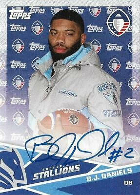 2019 Topps AAF Football You PickChoose AUTO Parallel Insert Base FREE SHIPPING