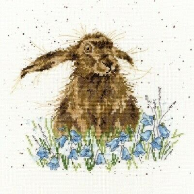 Bothy Threads - Bright Eyes Bunny by Hannah Dale Counted Cross-stitch Kit