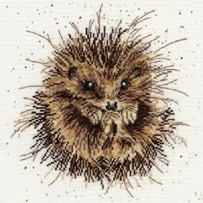 Bothy Threads - Awakening Hedgehog by Hannah Dale Counted Cross-stitch Kit