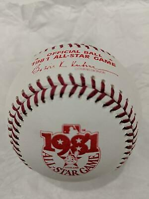 Official 1981 Rawlings ALL STAR Game Baseball  CLEVELAND INDIANS