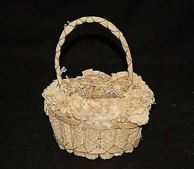 Classic Style Traditional Thanksgiving Corn on Cob Basket Table Centerpiece Decr