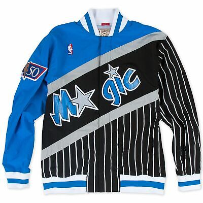 Mens Mitchell - Ness NBA 1996-97 Authentic Warm Up Jacket Orlando Magic