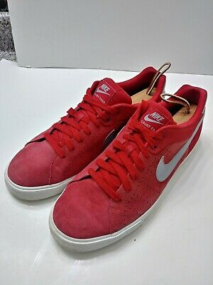 Nike Court Tour Casual Sneaker 487333-661 Red Suede Mens US Size 11