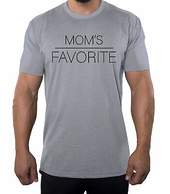 Moms Favorite T-shirts Funny Mens shirts Graphic Tees for Men