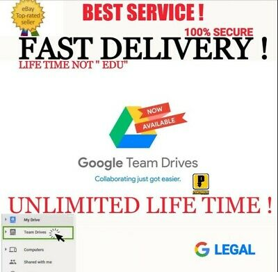 BUY 1-2 FREE UNLIMITED GOOGLE DRIVE STORAGE LIFETIME  ON EXISTING ACC