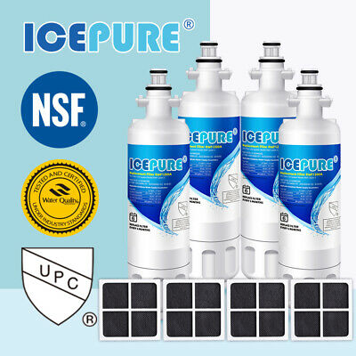 14Pack Fit For LG LT700P LT120F 46-9690 469918 Icepure Water Filter Air Filter