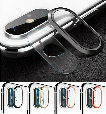 Tempered Glass Camera Lens Protector Screen Protective For iPhone X XS MAX XR