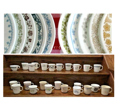 Vintage Corelle Add-On  Replacement Dinnerware See Pattern Choices YOU CHOOSE