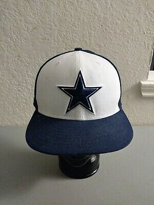 Dallas Cowboys Mens Fitted Hat Cap 7 58 New Era Polyester