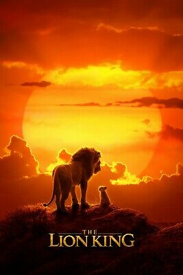 The Lion King Movie Poster  Multiple Sizes