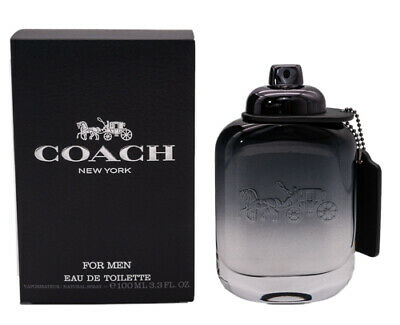 Coach by Coach 3-3 oz EDT Cologne for Men Brand New In Box