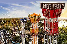 HERSHEYPARK ONE DAY ADMISSION TICKET valid through July 31 - SUPER DISCOUNT
