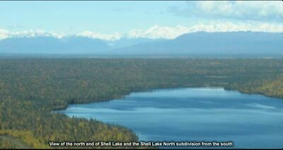 5 Acres ALASKA Property on One Stone Lake - Shell Hills - Dream Cabin Spot