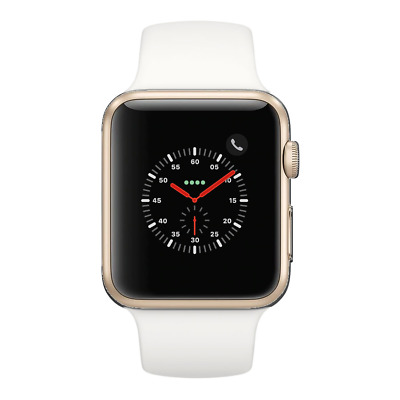 Apple Watch Series 2 - 38mm WiFi - Gold with White Sport Band