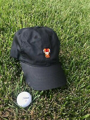 Frank The Tiger Woods Hat Nike Performance Black Golf Hat - Tigers Headcover