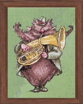 Nimue - NE165G - Brownie From Highlands Counted Cross-stitch Pattern