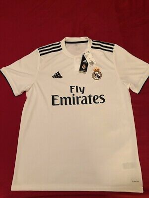 Real Madrid Home Adidas Jersey