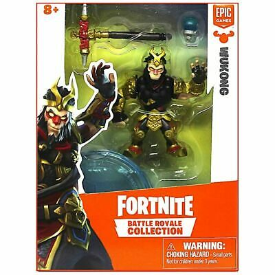 FORTNITE BATTLE ROYALE COLLECTION Wukung SINGLE FIGURE PACK 2019 NEW
