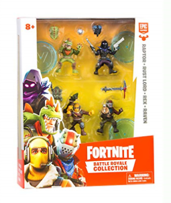 New Fortnite Battle Royale Collection Squad Pack Raptor Rust Lord Rex Raven