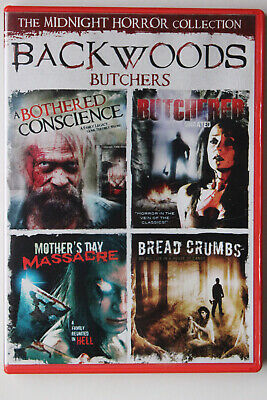 Backwoods Butchers DVD 2011 Bothered Conscience Mothers Day Massacre