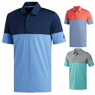 Adidas Golf Mens Ultimate 2-0 All Day Polo Shirt New