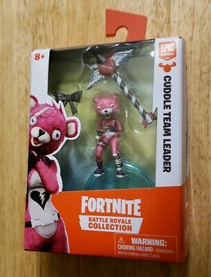 Fortnite Battle Royal Figure - Cuddle Team Leader- New in box free shipping