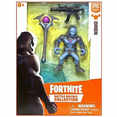 FORTNITE BATTLE ROYALE COLLECTION Omen SINGLE FIGURE PACK 2019 NEW