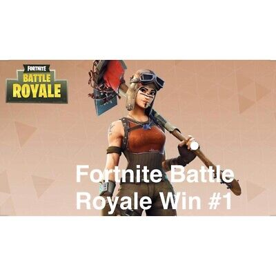 Fortnite Victory Royale Of Your Choice With Renegade Raider-