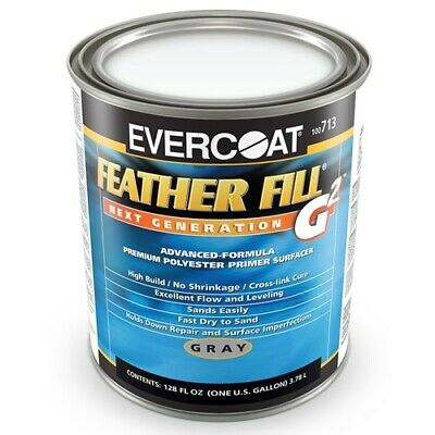 Evercoat Feather Fill G2 Polyester Primer Surfacer Gray Color -713